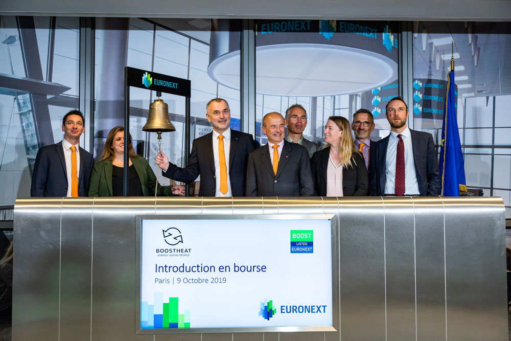 BOOSTHEAT share listed on Euronext Paris